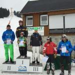 Vereinskamerad Jörg Rechenberger sicherte sich im Riesentorlauf den 3. Platz. Bildquelle: Marcus Scheller