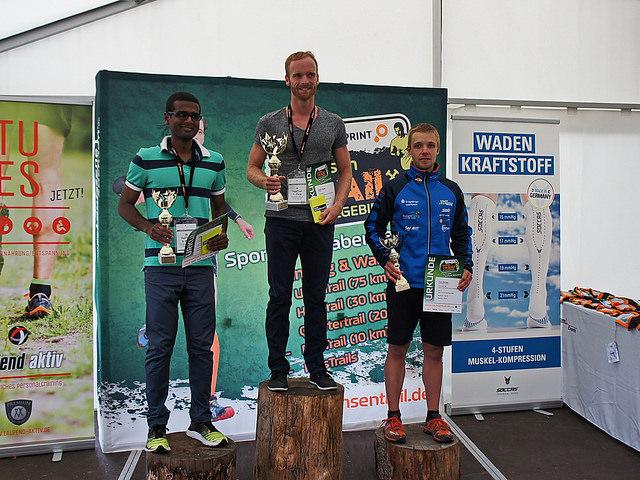 Toni Escher lief auf Platz3 im Halftrail (Distanz: 34km)