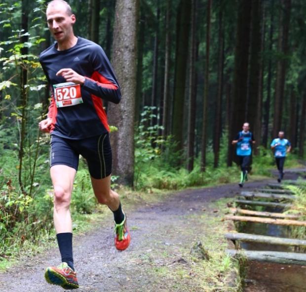 Marek Gähler lief für unseren Verein auf den 1.Platz | Bildquelle: Freie Presse, 10.10.2016 - Thomas Fritzsch