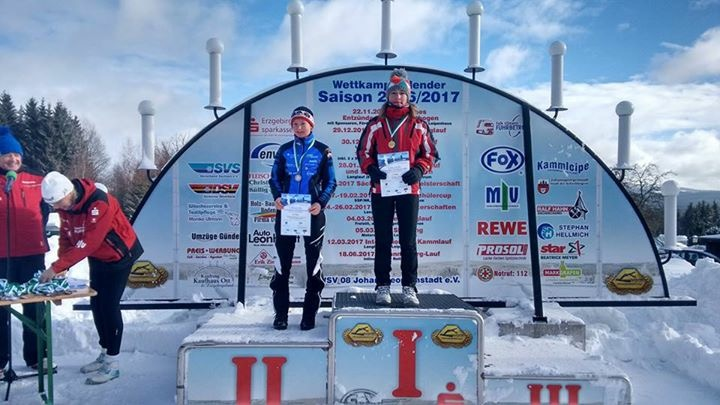 Rebecca Kretzschmar sicherte sich Platz 2 in ihrer Altersklassen…